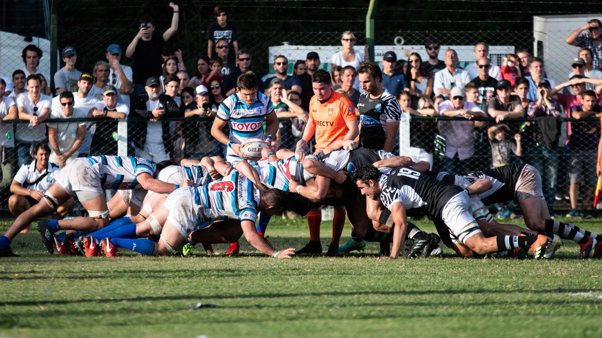 Se jugó una nueva fecha del Top 12 de la URBA con el clásico de San Isidro como el partido de la fecha (Manuel Cortina)