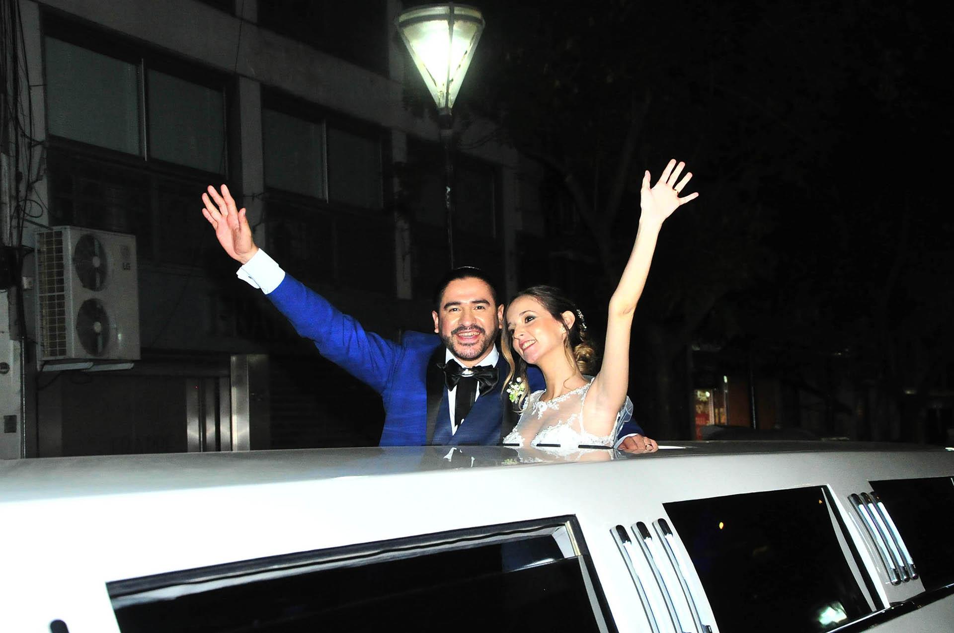Ariel Puchetta y Camila Minoldo