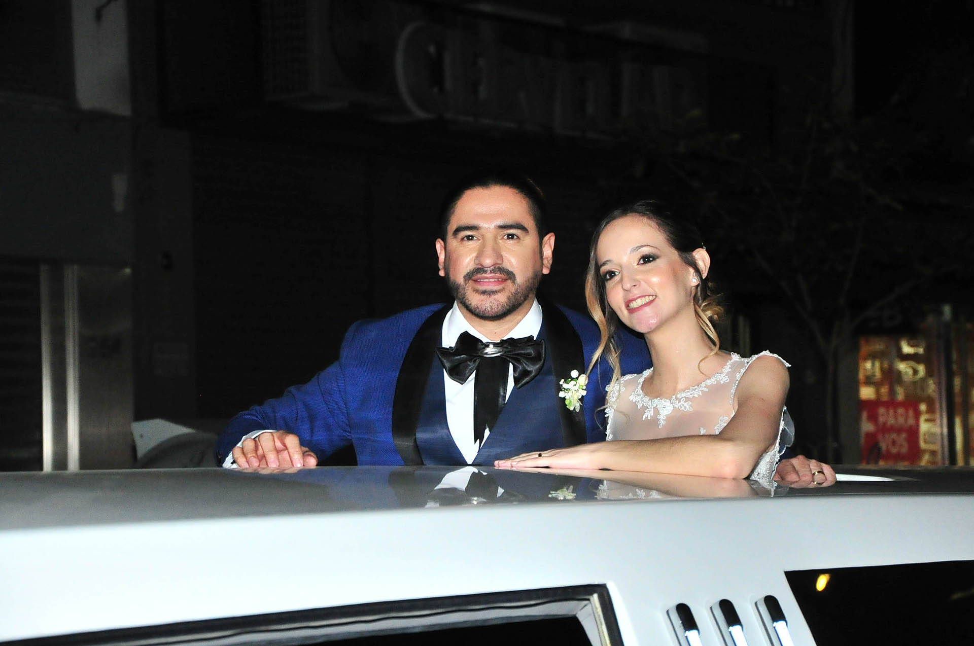 Ariel Puchetta y Camila Minoldo (Fotos: Teleshow/Veronica Guerman)