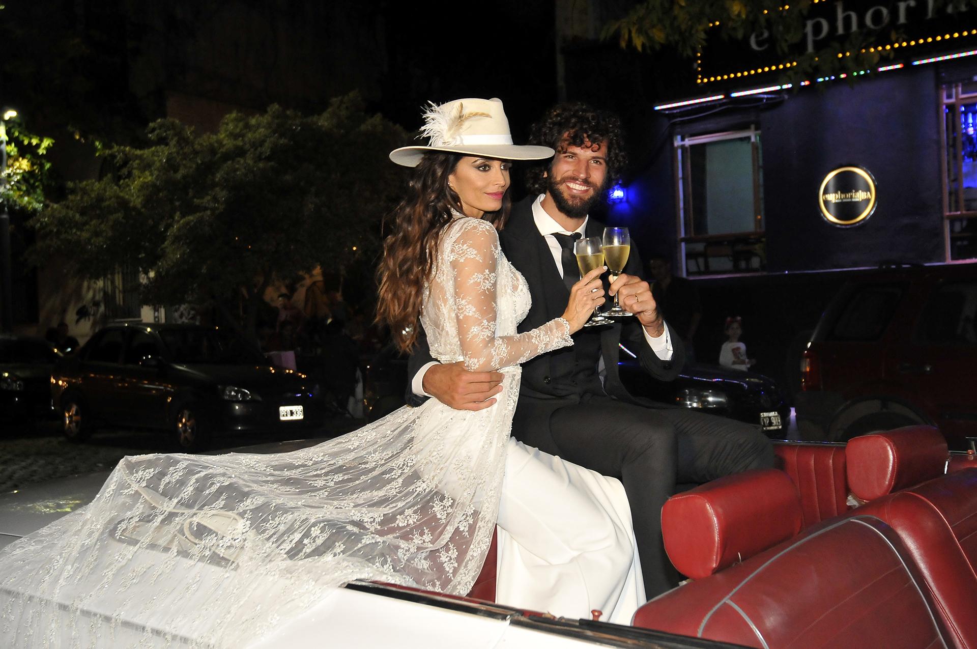 """""""Estoy feliz porque el amor es todo en la vida"""", dijo Paz Cornú en diálogo con la prensa"""