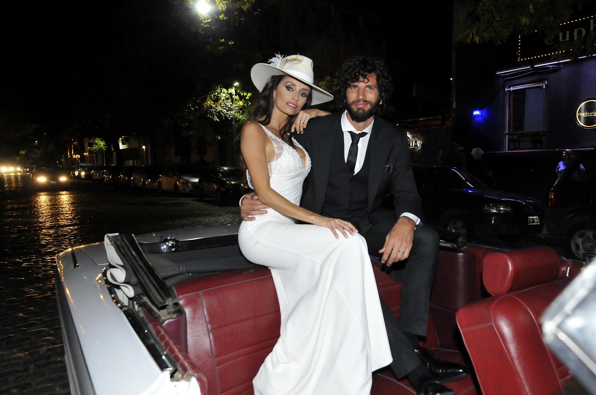 Paz Cornú se casó con el empresario Diego Orden. La cita fue en La Malbequeria, un bar de vinos añejos, en Palermo
