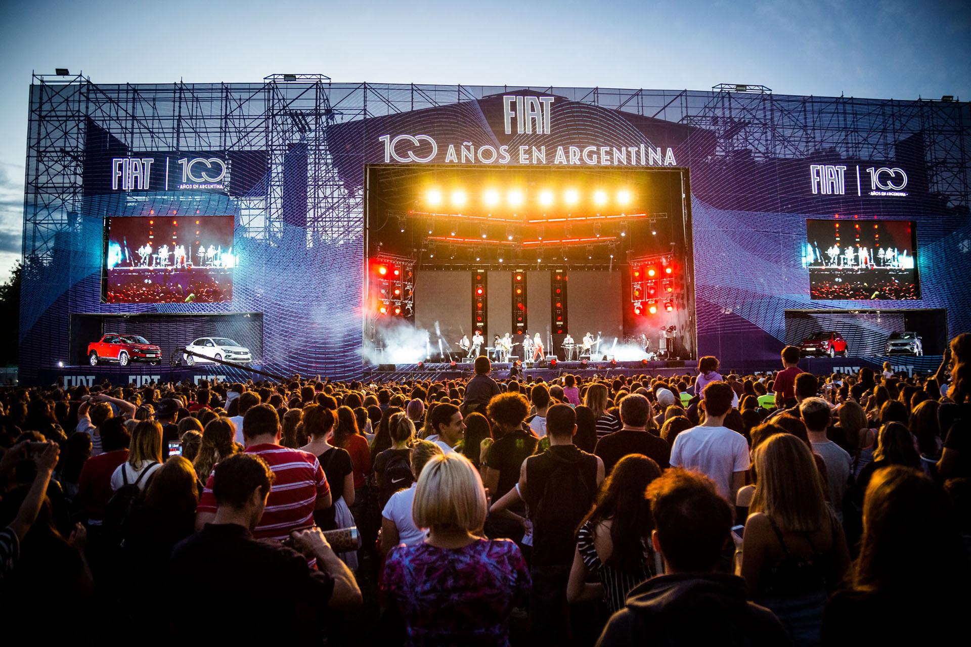 El gran escenario para el festejo de los 100 años de Fiat en la Argentina