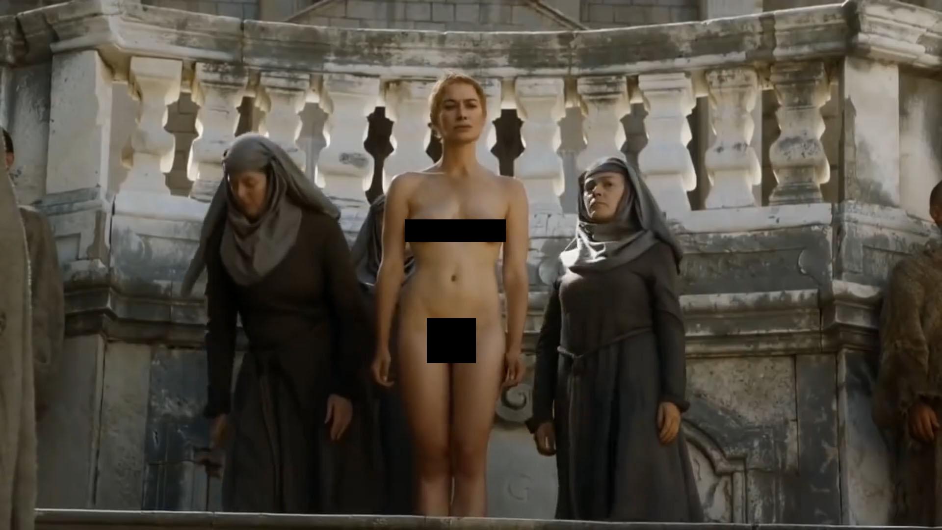 Lena Headey Reavivó La Polémica Por Su Escena Al Desnudo En Game Of