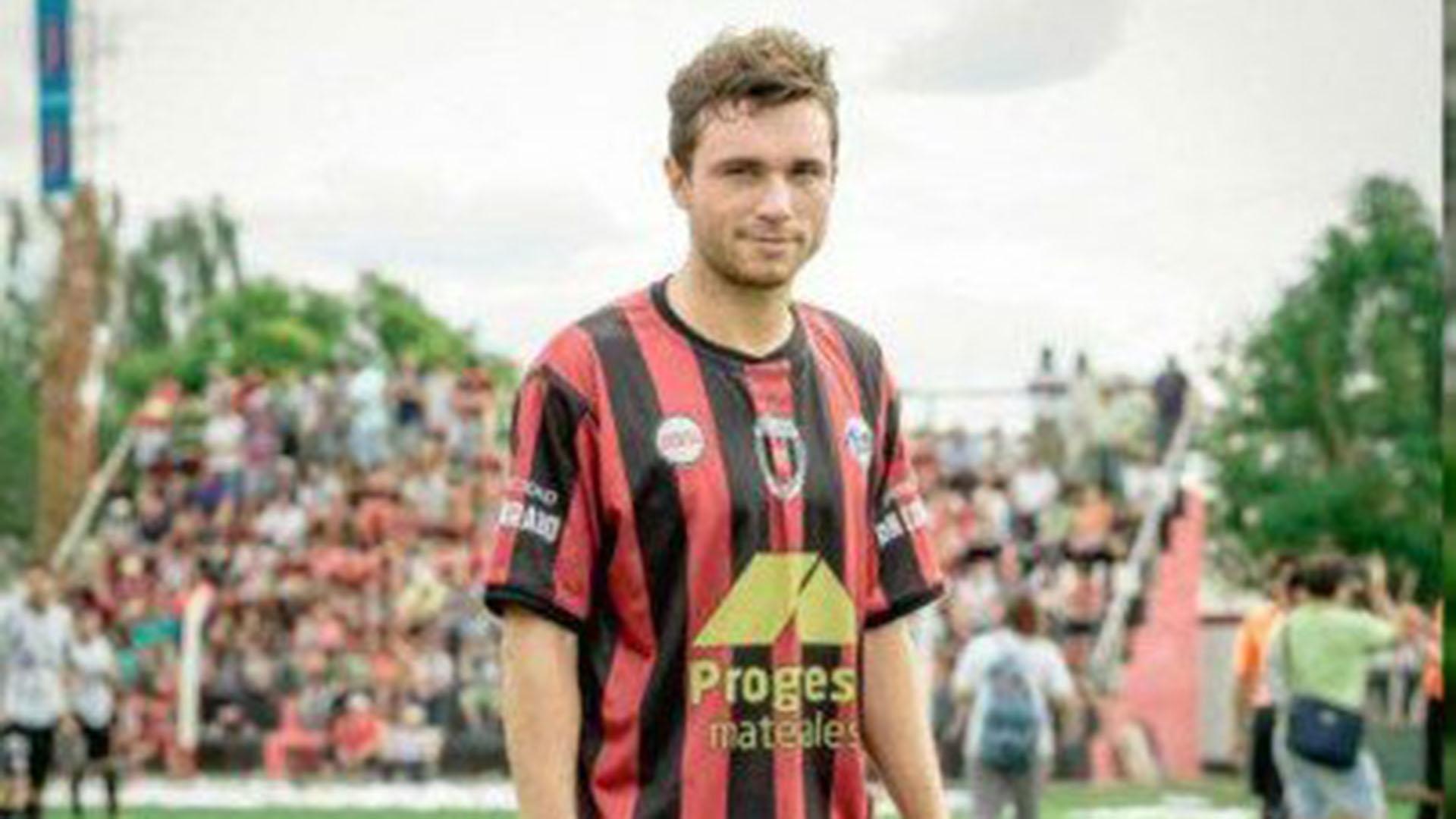 Rabellino, de 24 años, pasó por las divisiones formativas de Atlético Rafaela (Foto: @EmilianoGuardia)