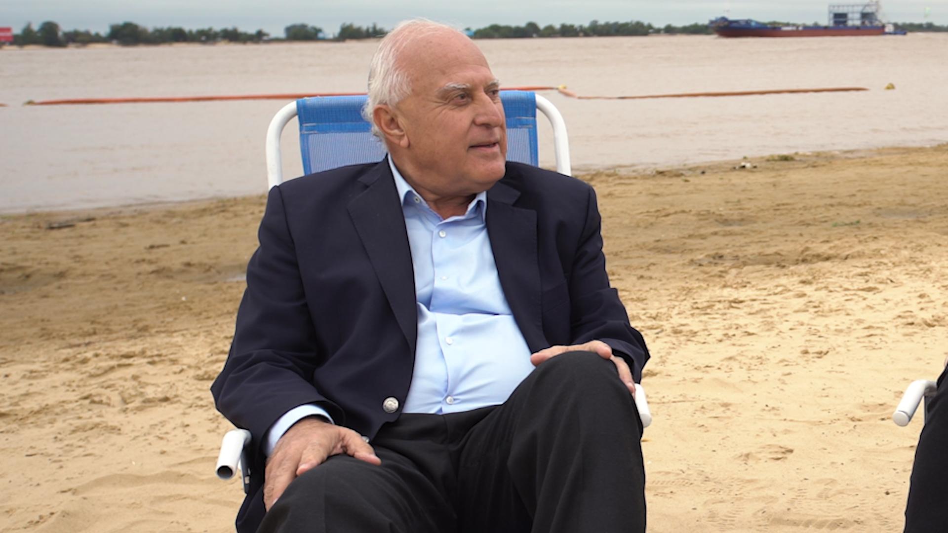 Miguel Lifschitz se animó a las preguntas de Diego Iglesias en Políticos en el recreo