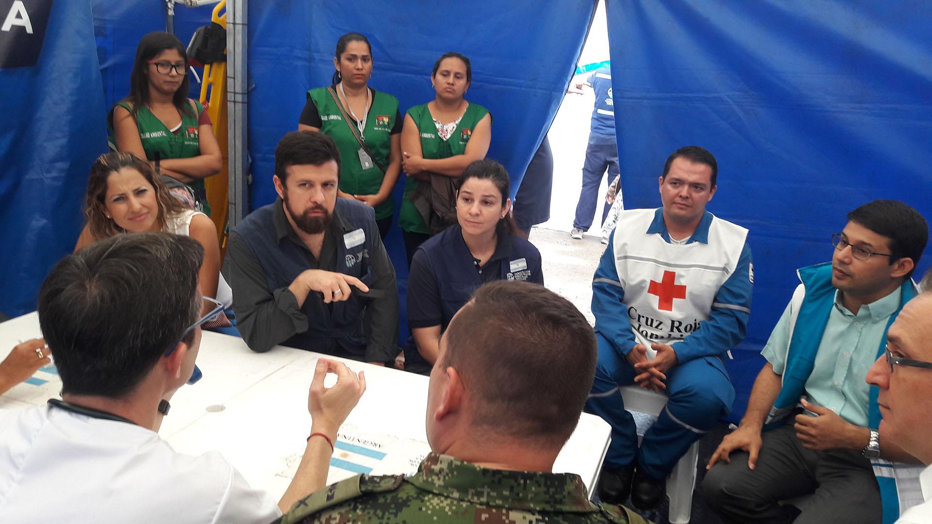 Misiones humanitarias de los Cascos Blancos