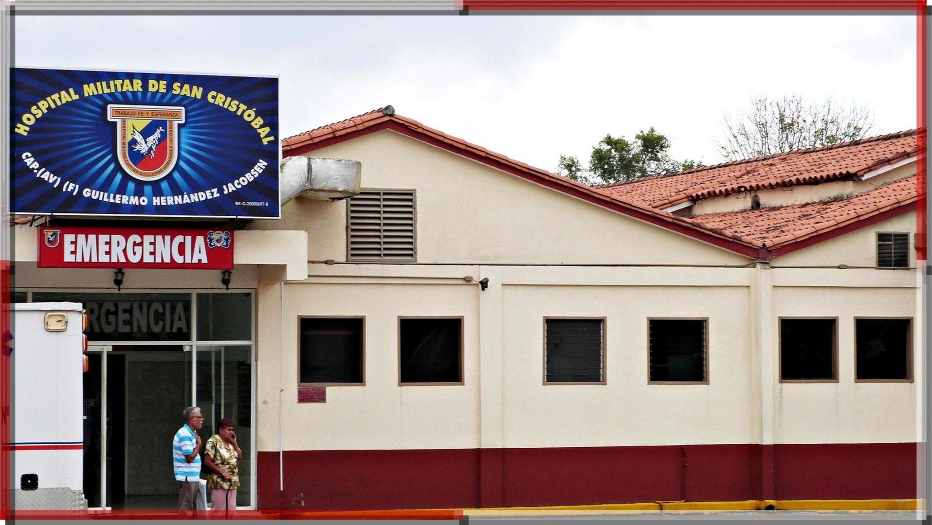 Hospital militar San Cristóbal, en Táchira