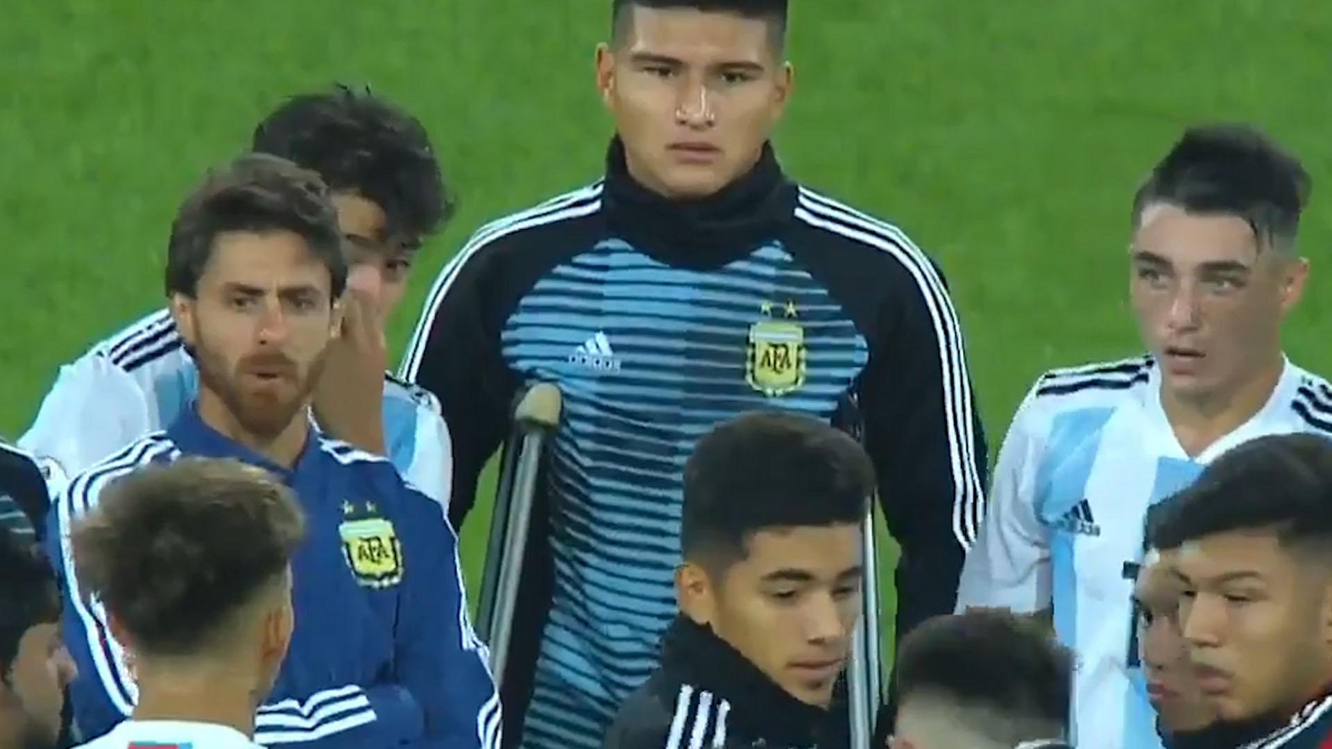 """El """"reto"""" de Pablo Aimar a sus dirigidos luego de la goleada sufrida ante Ecuador"""