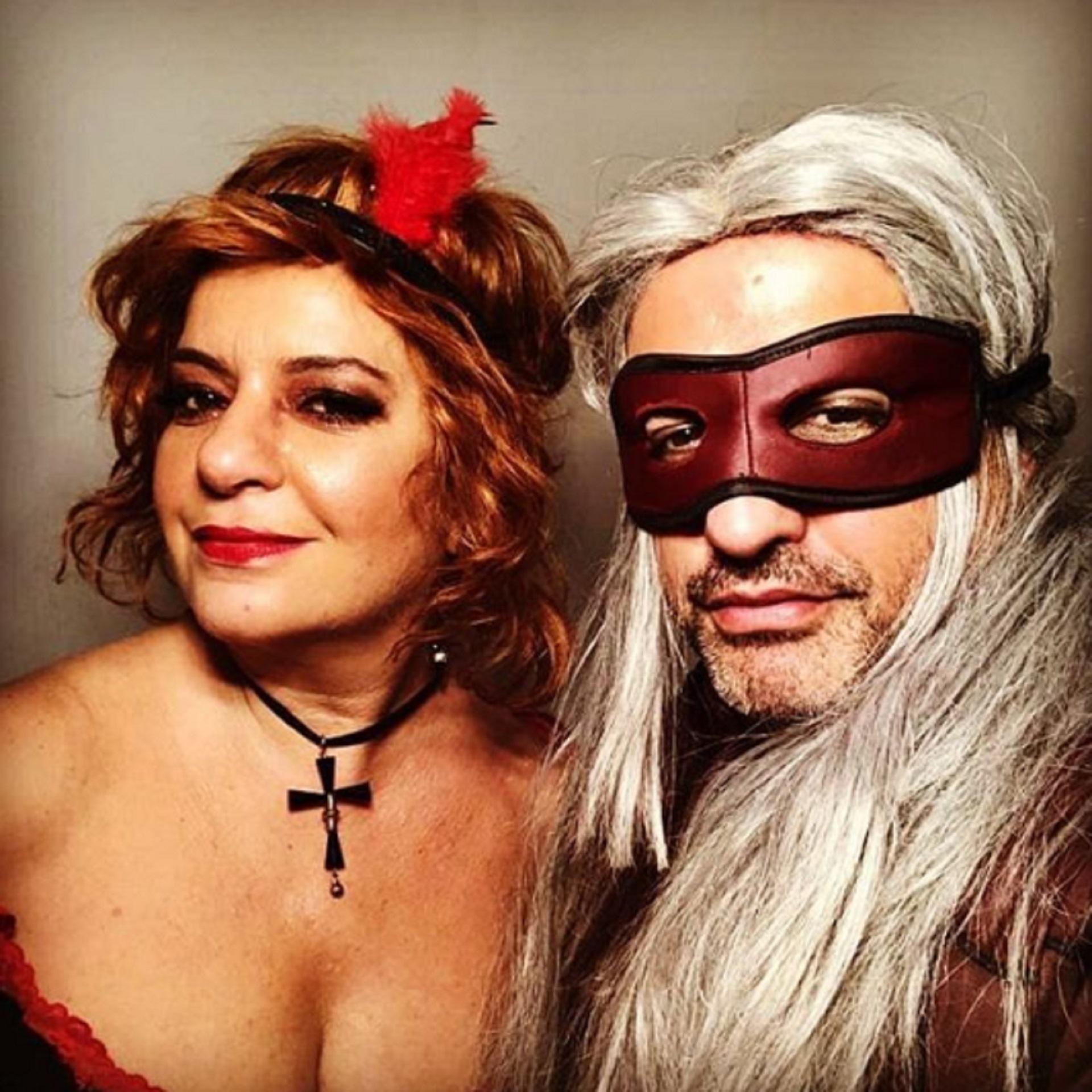 Andrea Taboada y Ángel de Brito