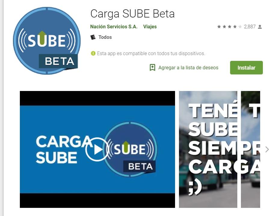 La app está disponible para Android y en versión Beta.