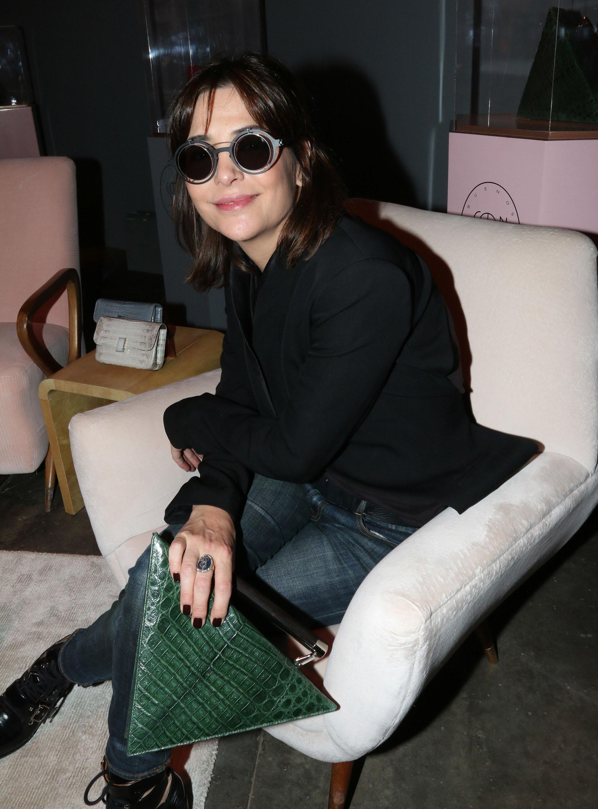 Sandra Hillar en el late lunch de Solantu, la firma argentina de lujo sostenible de Grupo Insud