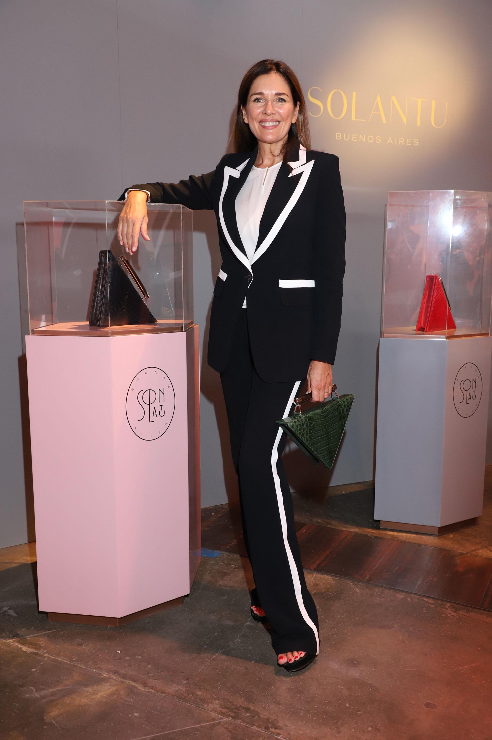 Andrea Frigerio fue una de las invitadas a la feria anual de arte contemporáneo de la ciudad