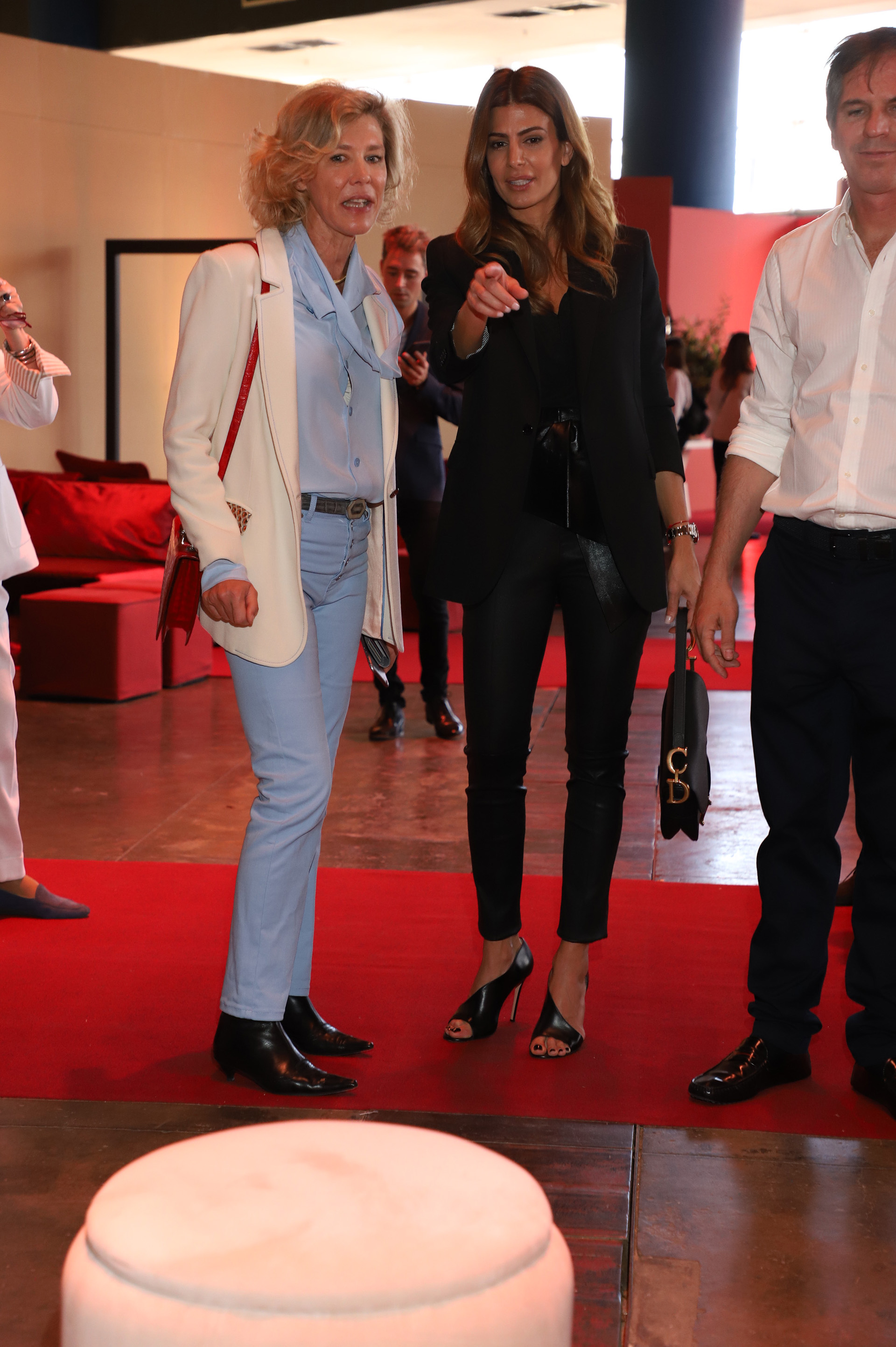 Alexandra de Royere, CEO de Solantu, y Juliana Awada