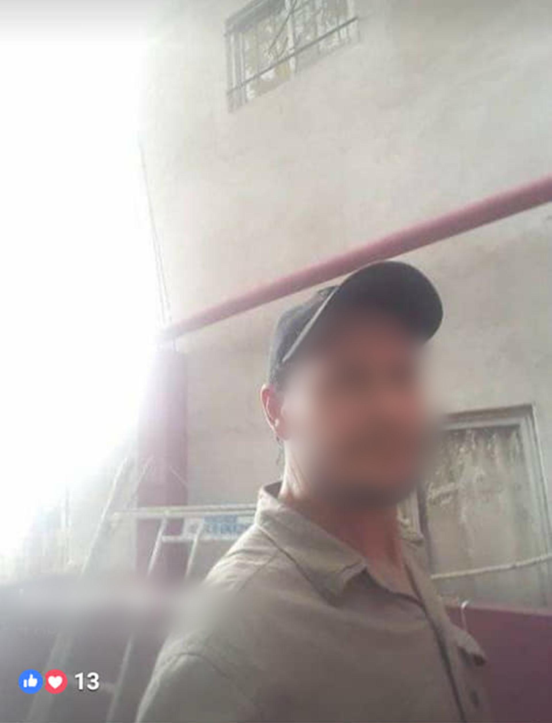 La imagen del hombre quecreyó chatear con unaniña de once años. Su cuenta de Facebook ya no existe
