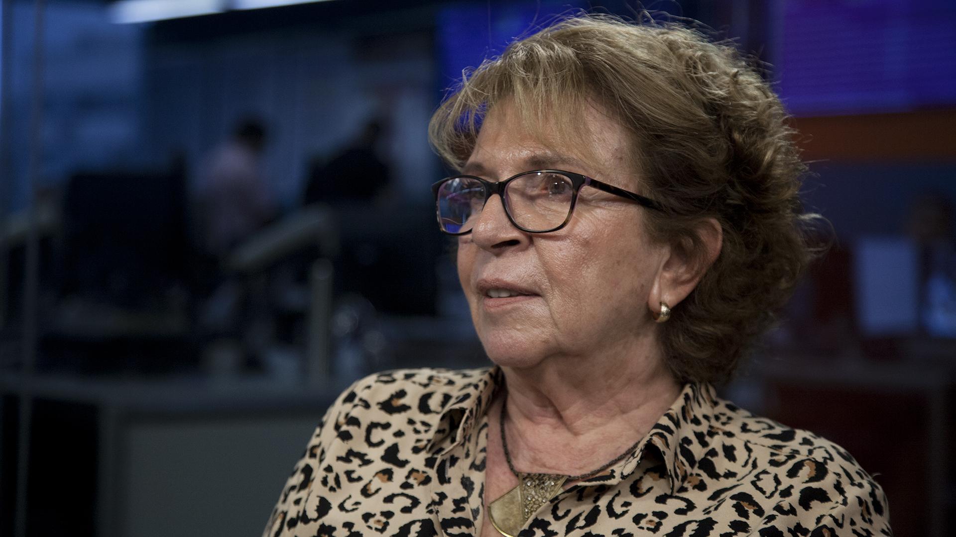 La presidenta de la Fundación El Libro, María Teresa Carbano (Santiago Saferstein)