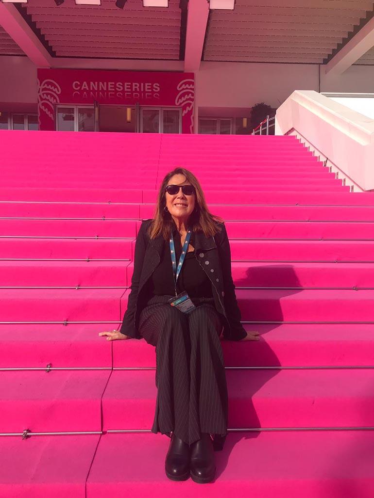 Marta Betoldi en Cannes