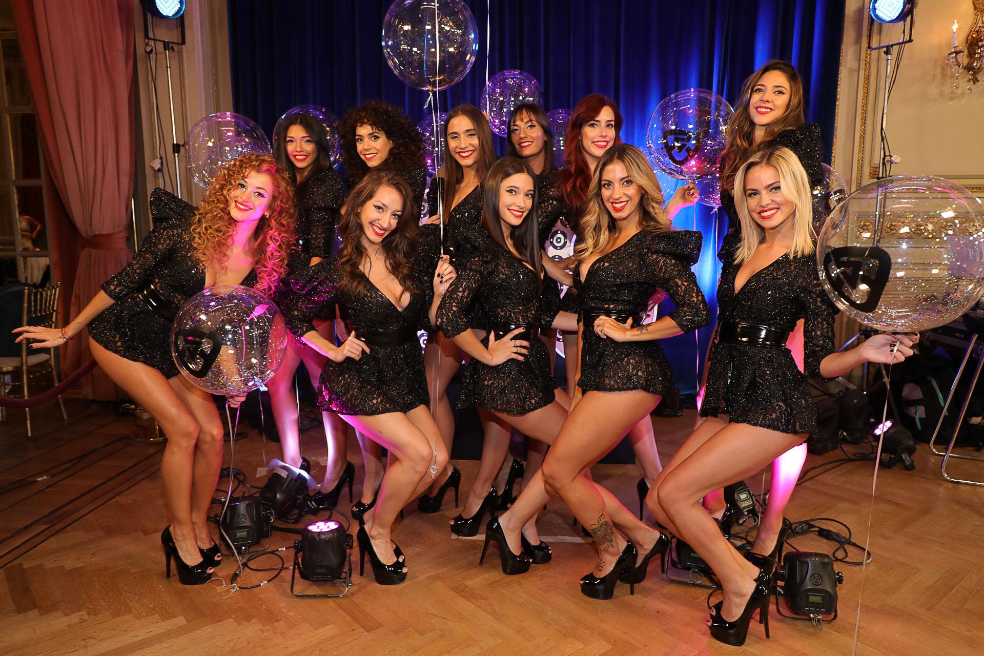 Las bailarinas del programa
