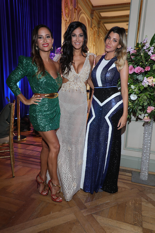 Lourdes Sánchez, Silvina Escudero y Charlotte Caniggia