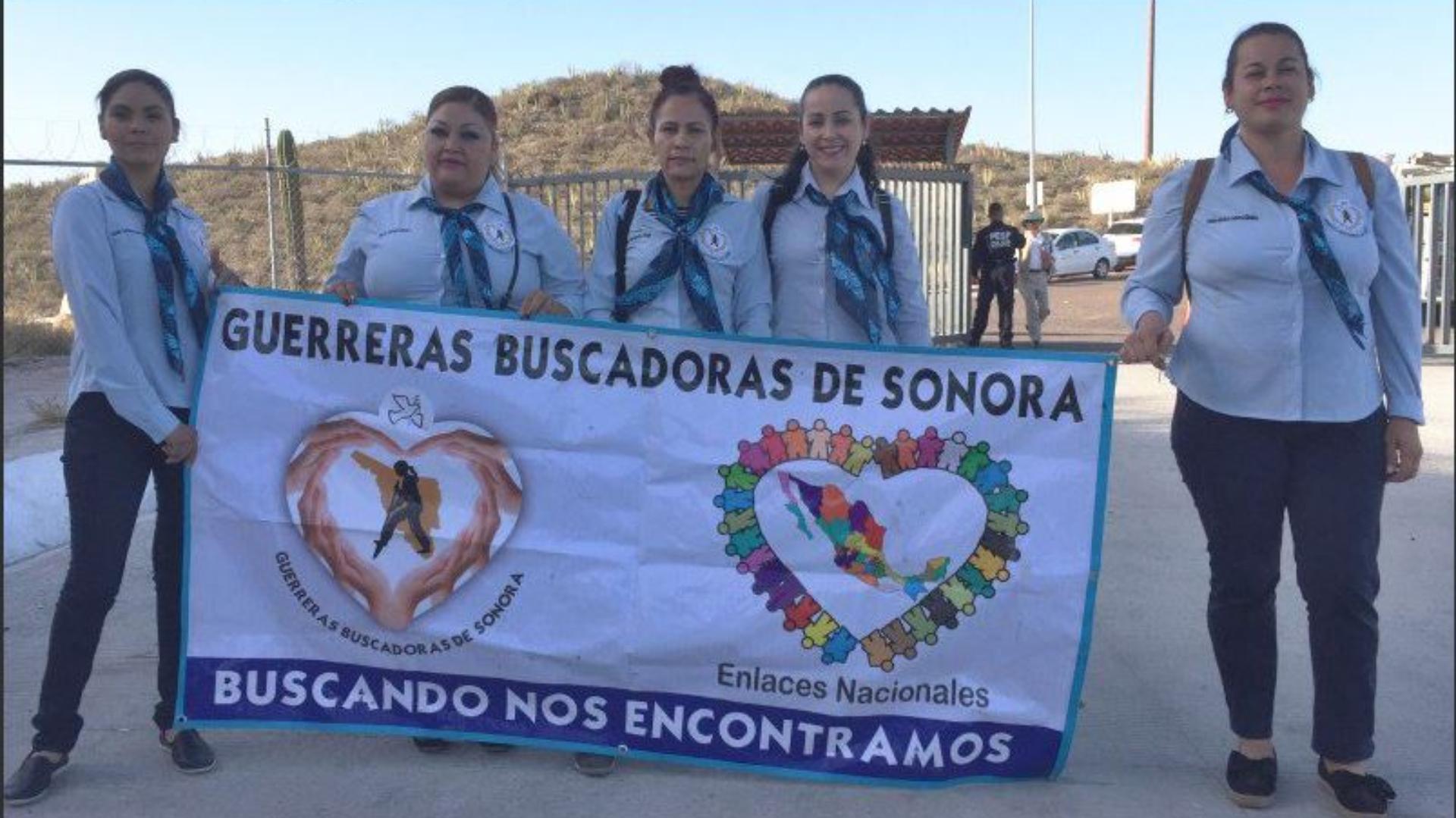Las mujeres que forman parte de este grupo de búsqueda tienen familiares desaparecidos (Foto: Twitter)