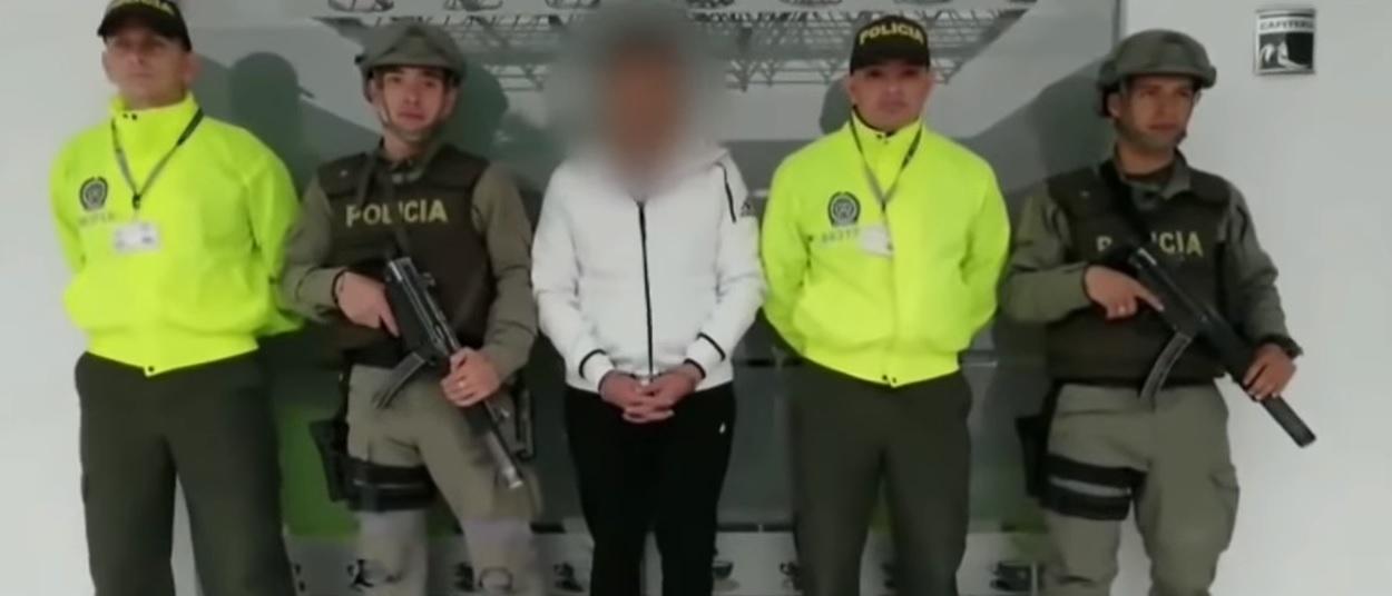 """""""El Rafa"""" era uno de los principales enlaces entre cárteles mexicanos y colombianos (Foto: Captura de pantalla Caracol)"""