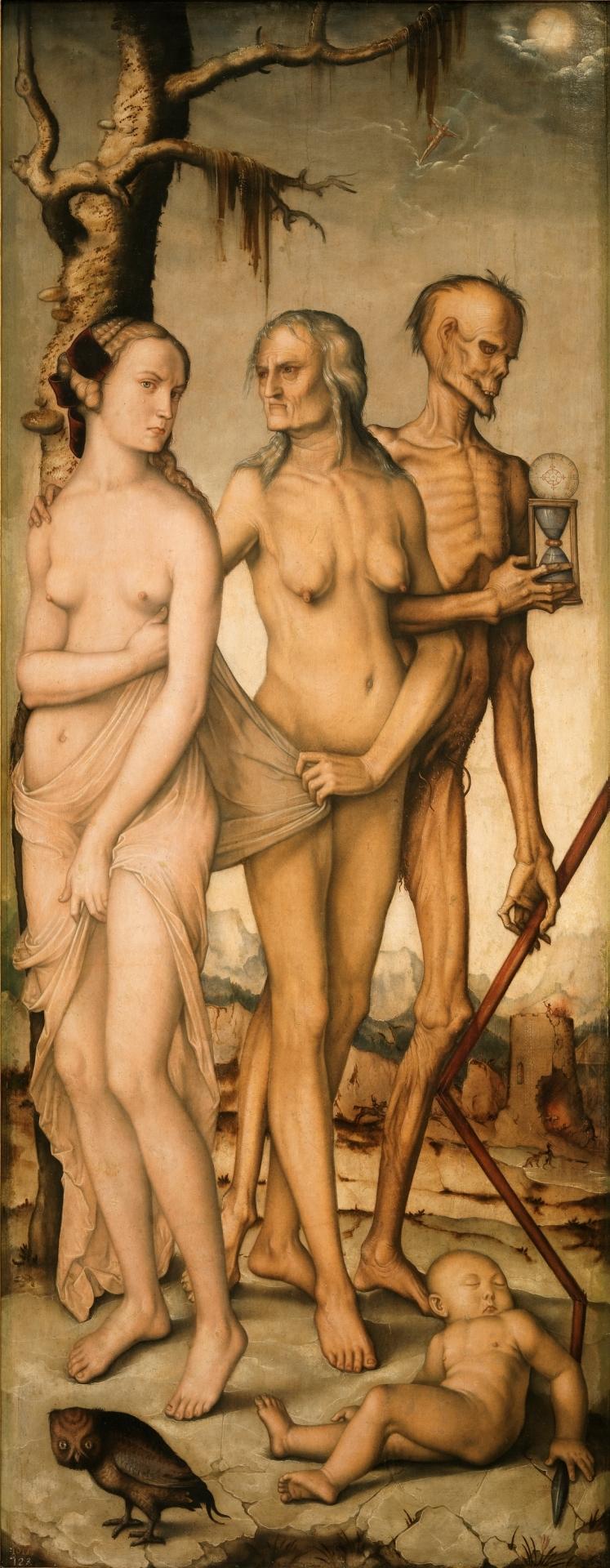Las Edades y la Muerte, Hans Baldung Grien. ©Museo Nacional del Prado