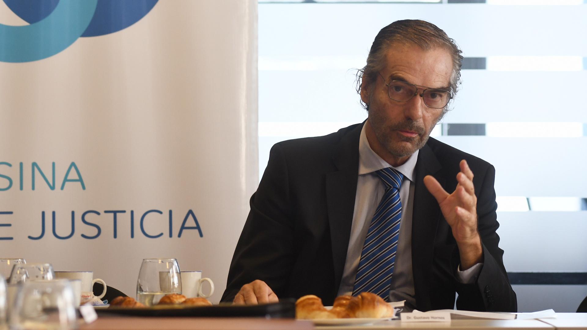 """El juez Gustavo Hornos: """"Los grandes reclamos de la sociedad no pueden ser  desoídos por la Justicia"""" - Infobae"""