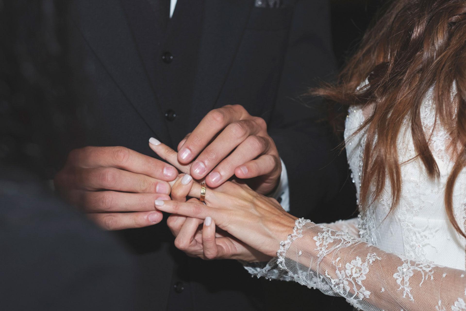 El momento de los anillos.