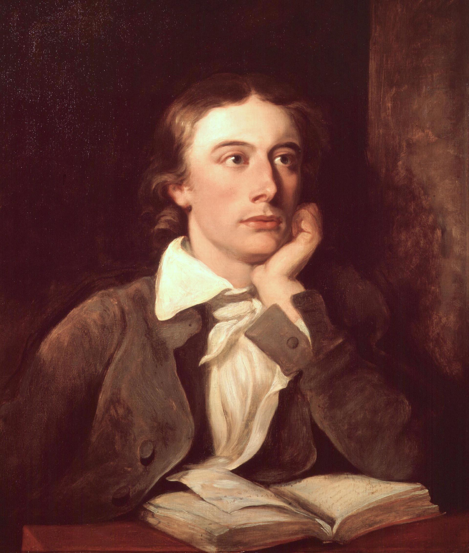 John Keats, el poeta admirado por Jorge Luis Borges, fue también cirujano. Murió por tuberculosis a los 25 años. Se lo considera un precursor de los temas médicos en la poesía.