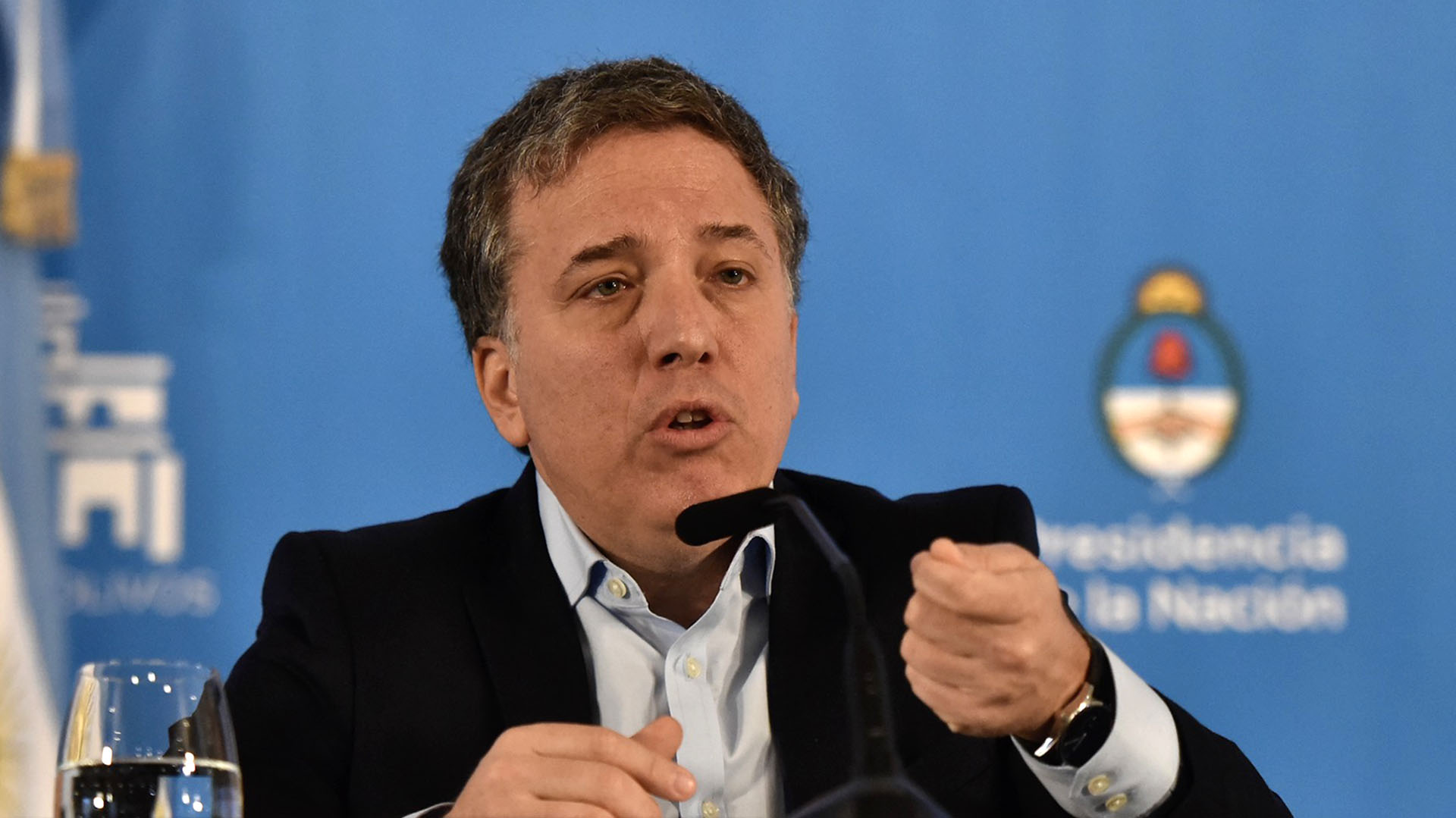 Nicolás Dujovne, ministro de Hacienda (Adrián Escandar)