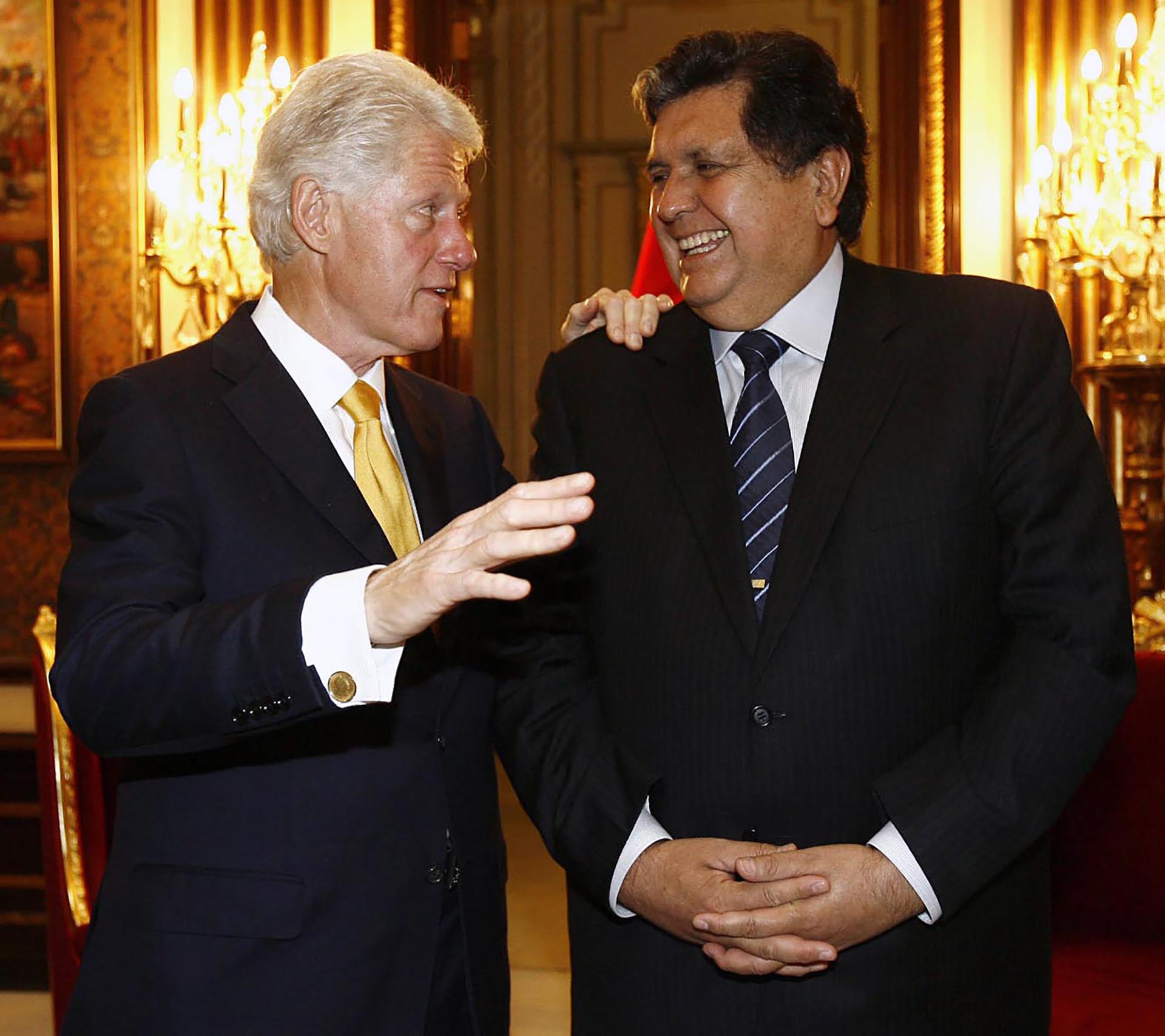 Una visita de Bill Clinton al Perú en 2010