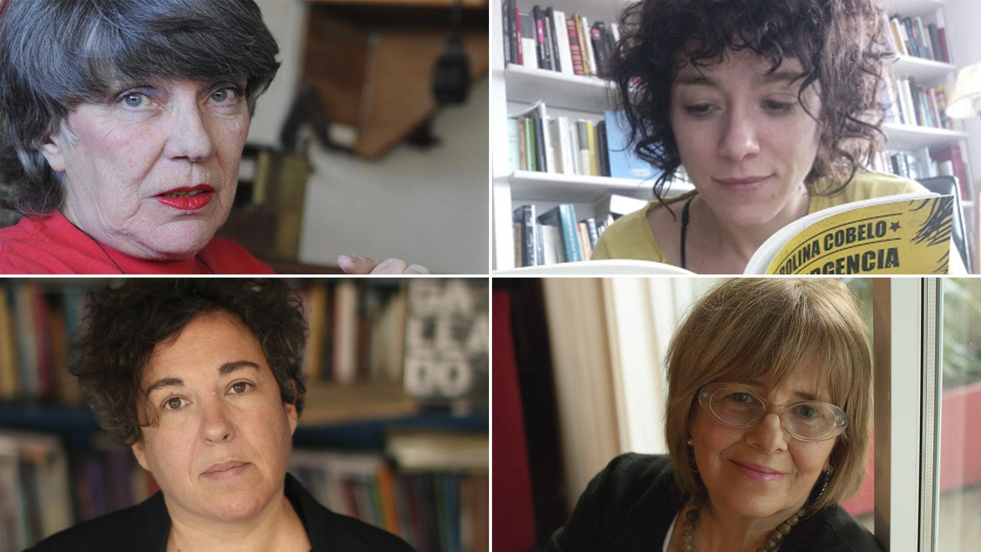 Alicia Plante, Carolina Cobelo, Gabriela Cabezón Cámera, Patricia Sagastizábal