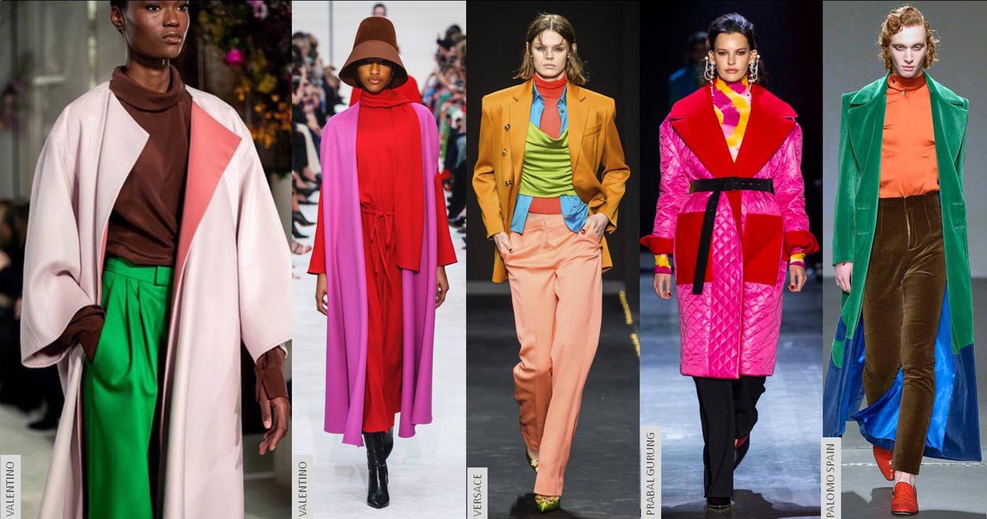 Las pasarelas de las fashion weeks mostraron combinaciones insólitas.