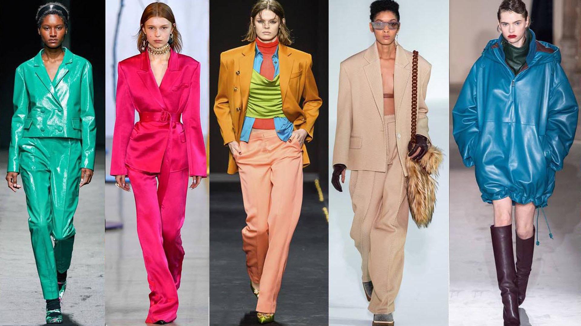 La paleta invierno 2020 promete mucho color.