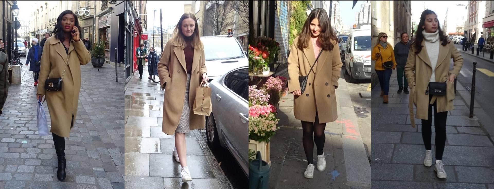 Street style a puro beige en las principales capitales de la moda.