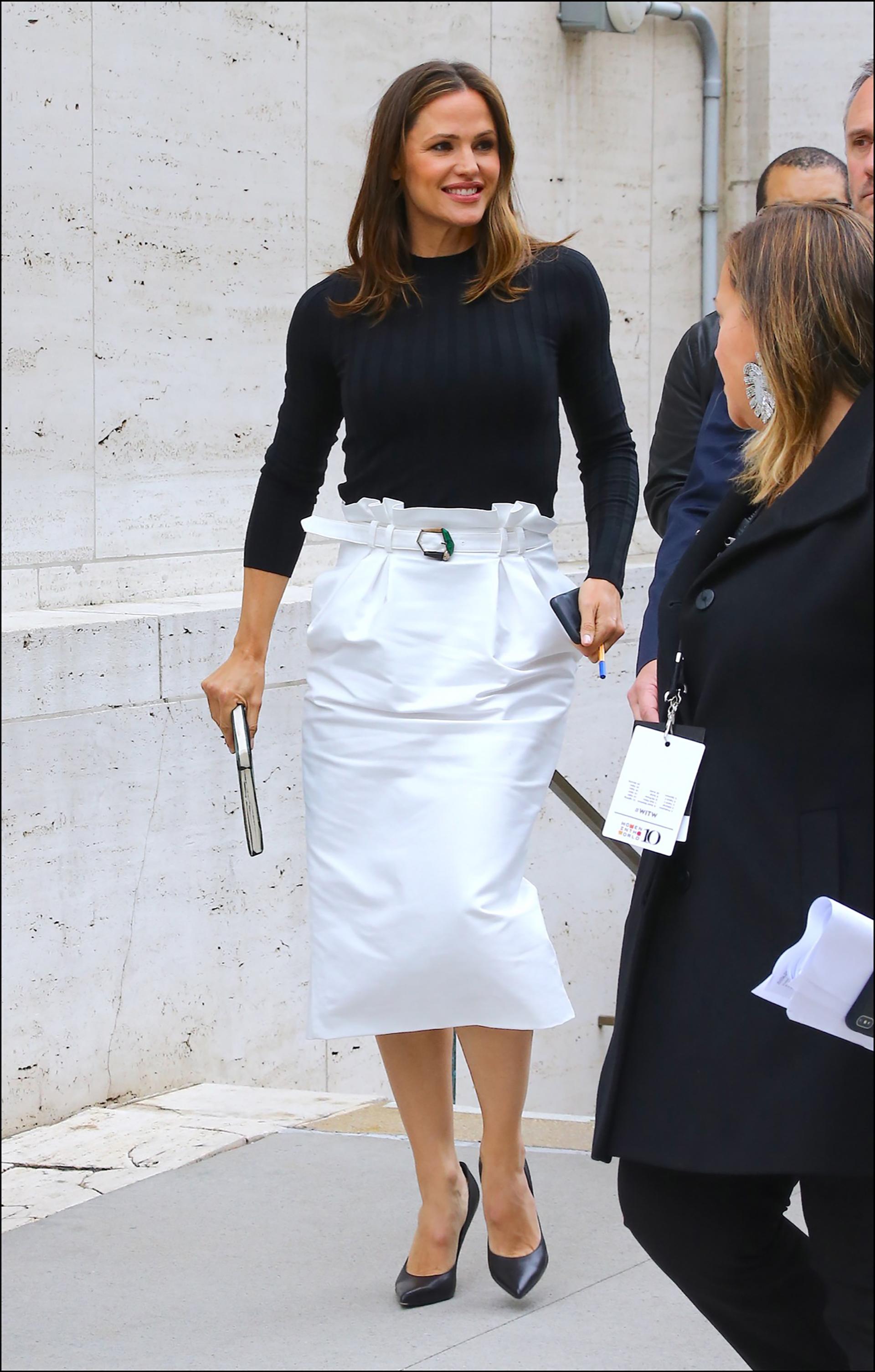 Así se la vio a la actriz enLincoln Center, Nueva York, el pasado11 abril.