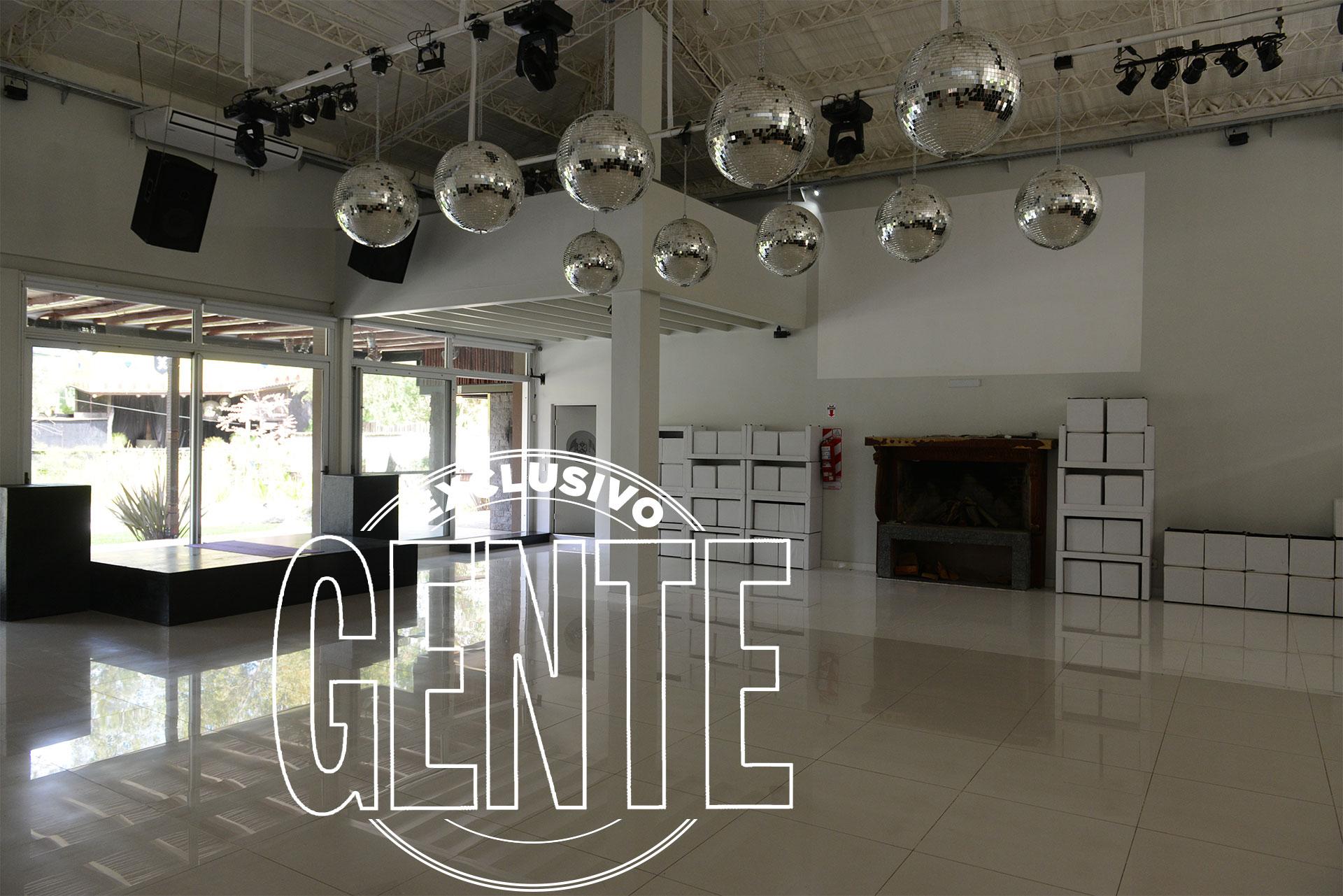 El salón principal con la pista de baile. Foto: Julio César Ruiz/GENTE