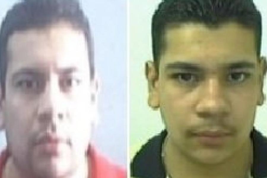 """Rene Arzate """"La Rana"""" y Alfonso Arzate García, """"El Aquiles"""", jefe de plaza en la ciudad de Tijuana, Baja California. (Foto:. FBI)"""