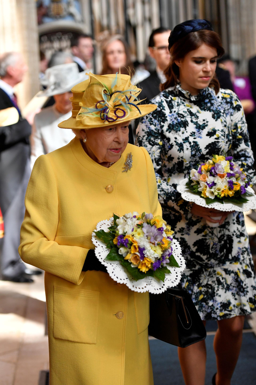 Su marido, el duque Felipe de Edimburgo, cumplirá 98 años el próximo 10 de junio