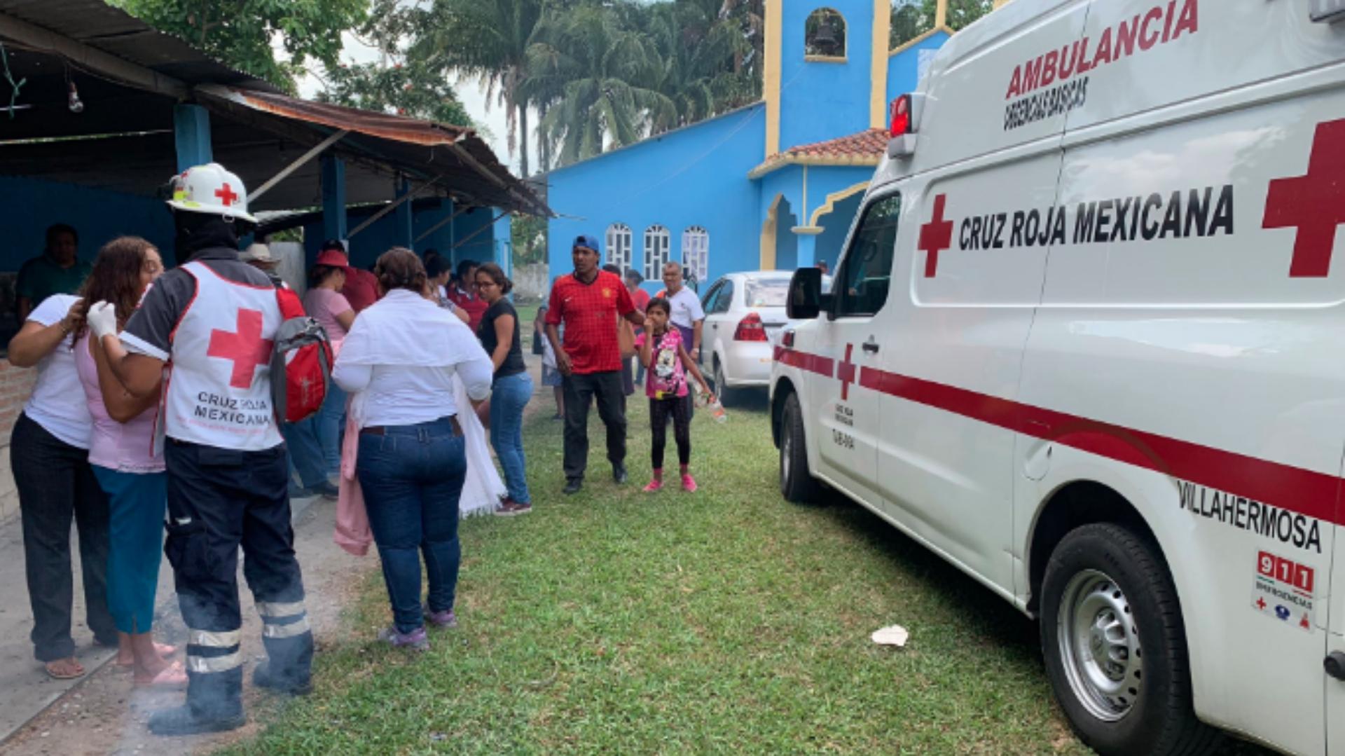 El hecho se dio en la capital del estado, Villahermosa (Foto: Twitter)