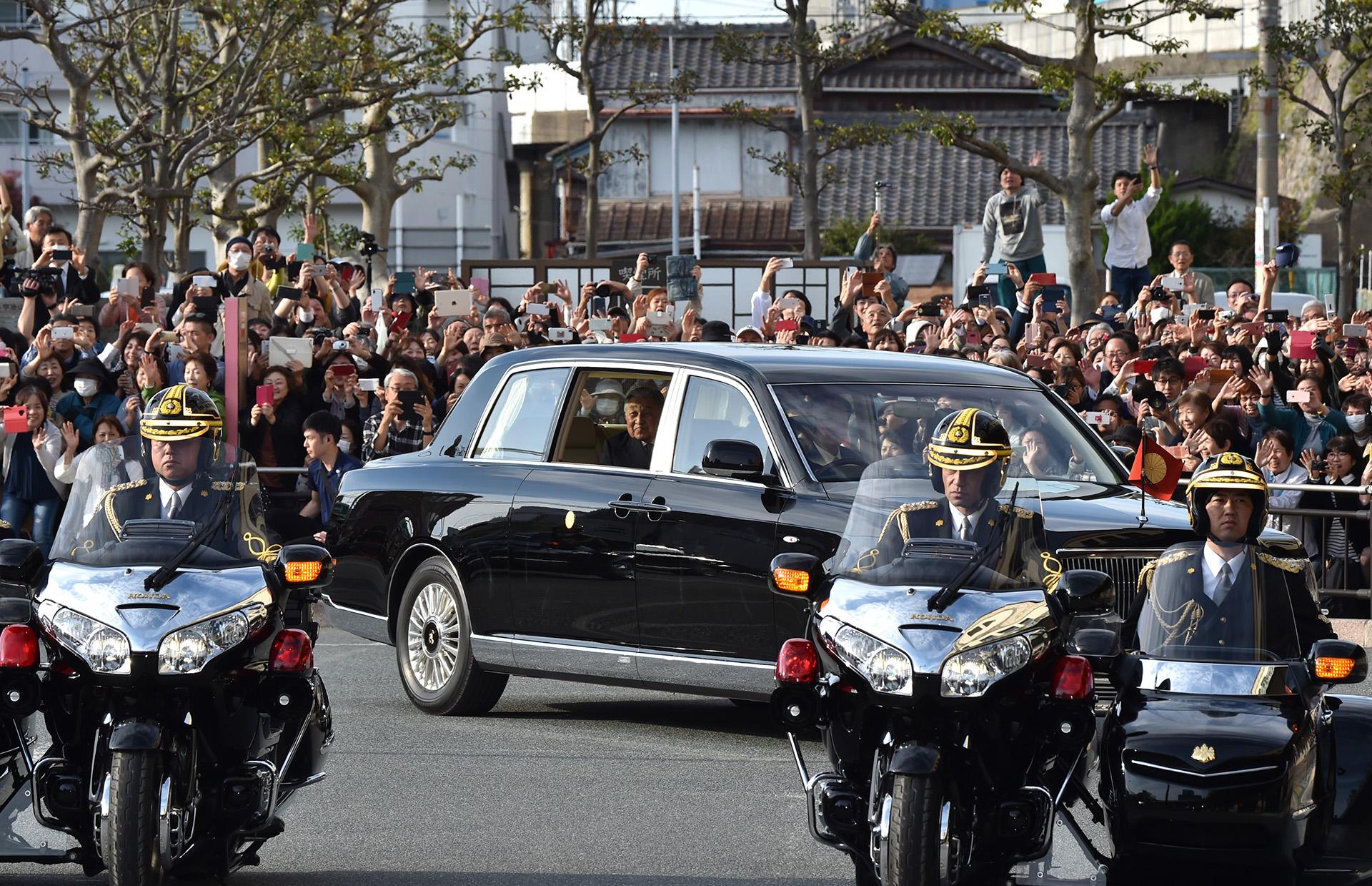 La abdicación del emperador está prevista para el 30 de abril