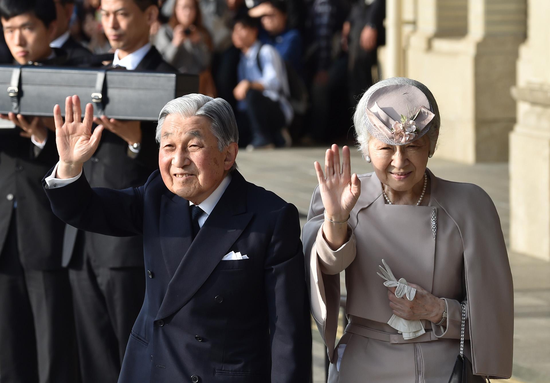 El emperador, de 85 años, llegó al trono en 1989 tras la muerte de su padre, Hirohito