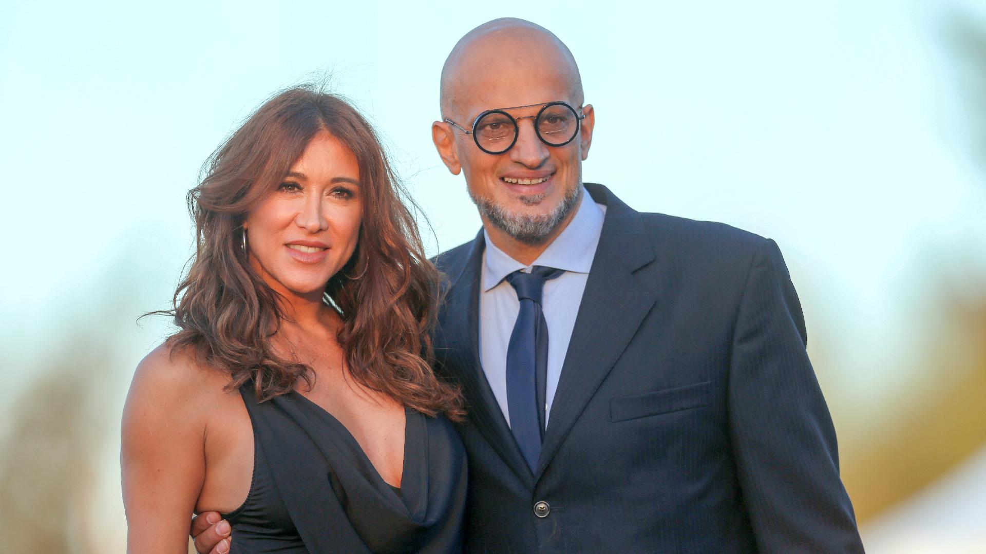 Guillermo Marín y Valeria Archimó, amigos de Jorge Rial