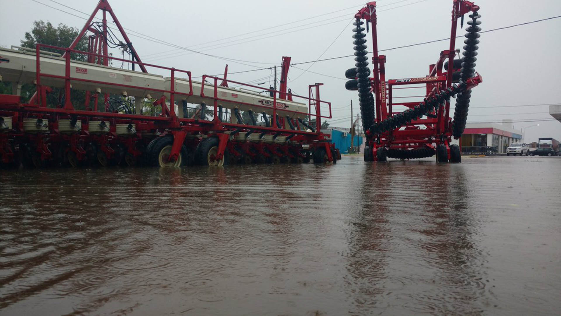 En Chaco cayeron más de 200 milímetros de agua(Twitter: @ladrenlosdemas)
