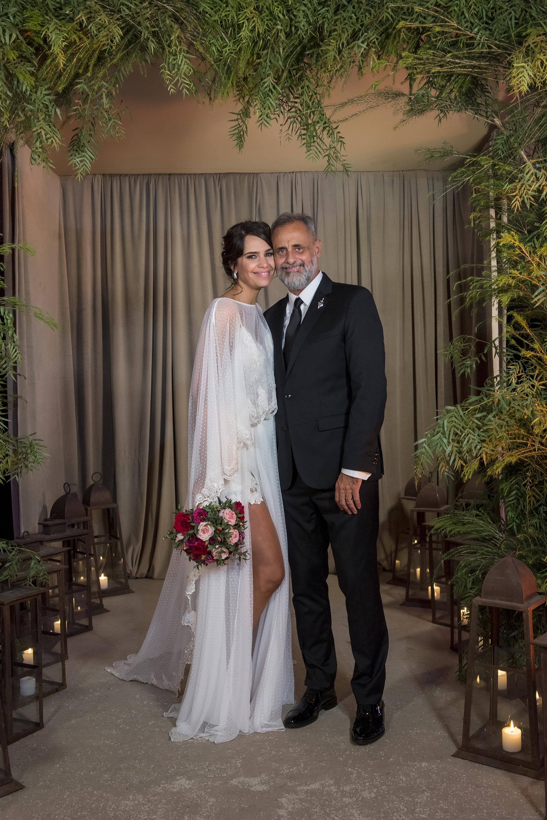 La primera foto de casados