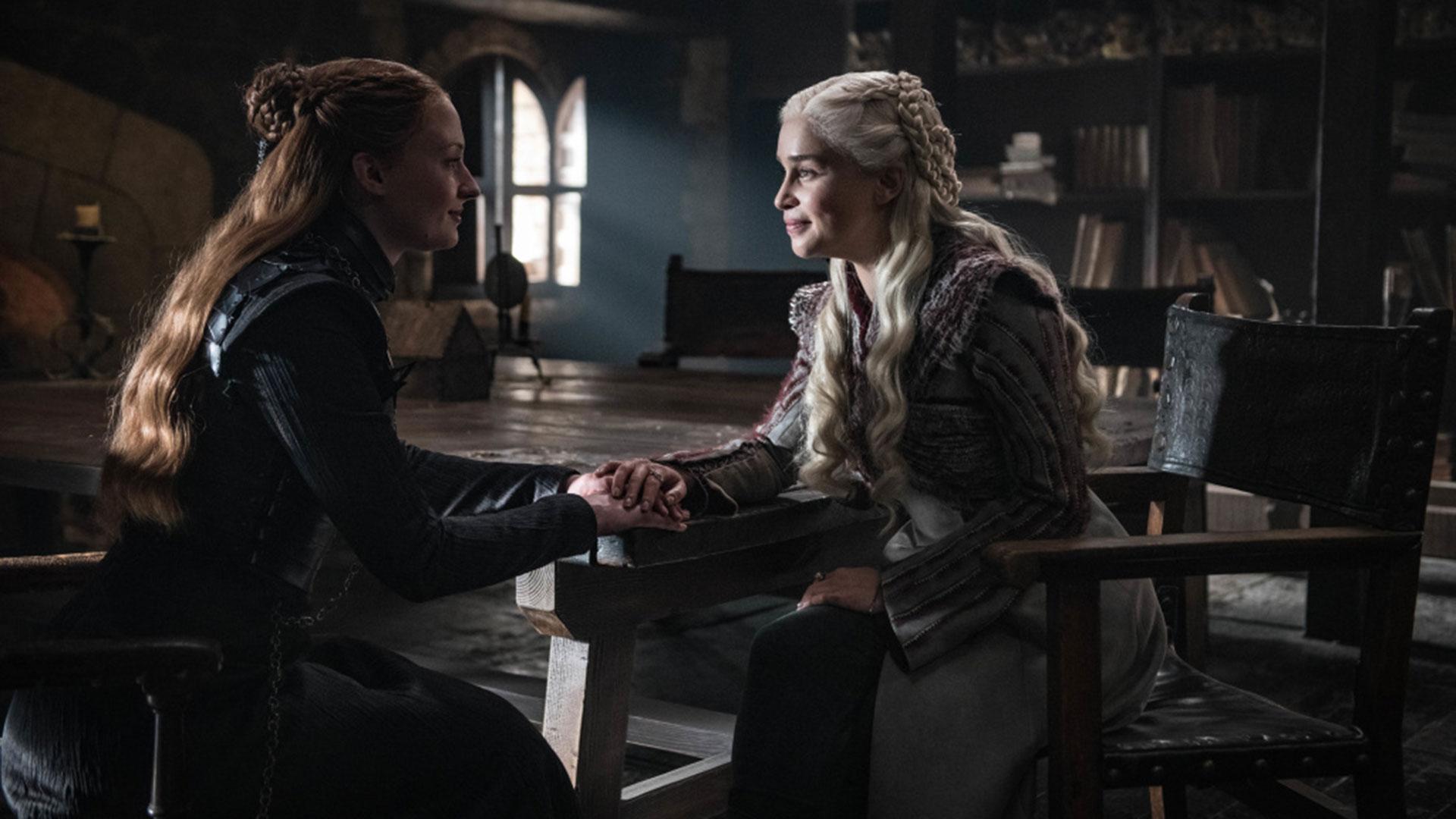 Sansa Stark y Danerys Targaryen protagonizaron una de las mejores escenas del capítulo 2
