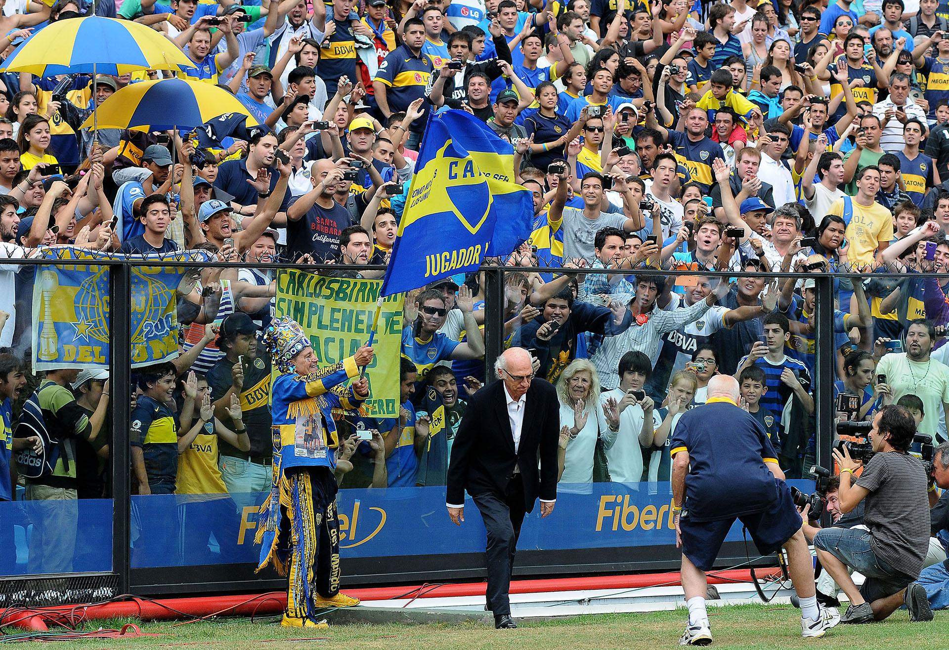 """Bianchi ganó tres Copas Libertadores y dos Intercontinentales con el """"Xeneize"""""""
