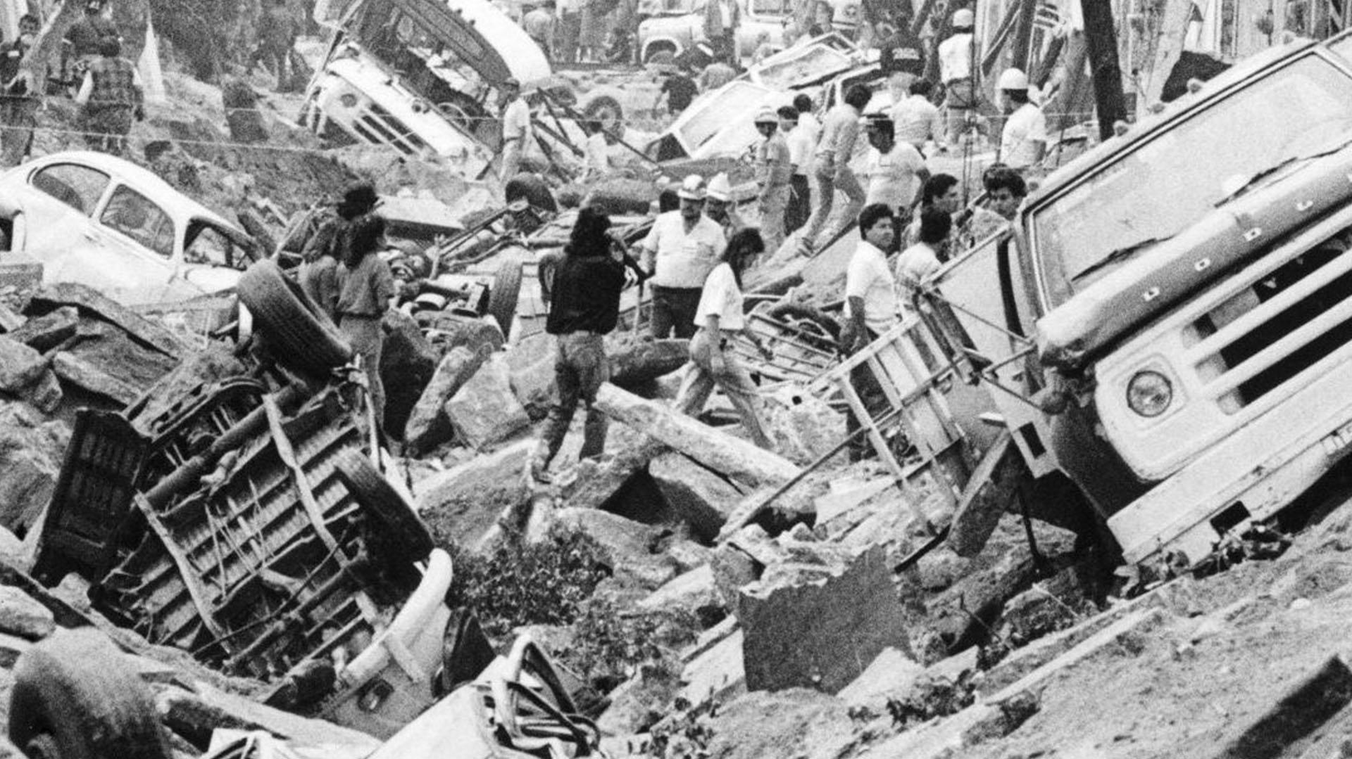 Testigos por las explosiones describieron las escenas como dantescas (Foto: especial)