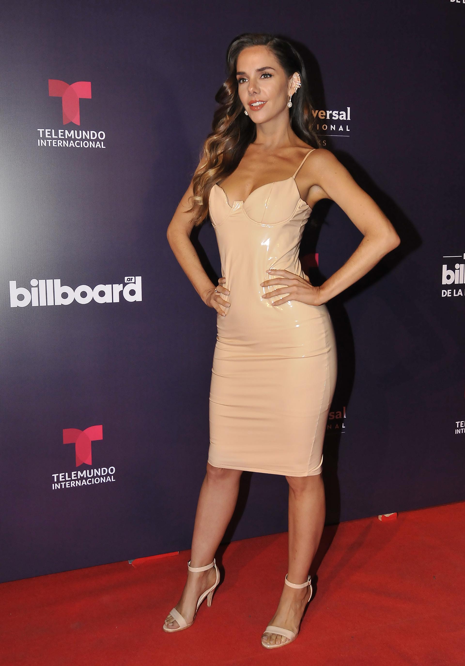 Julieta Nair Calvoestuvo presente en la gran fiesta que organizó Telemundo Internacional y que fue la antesala de los Premios Billboard de la Música Latina