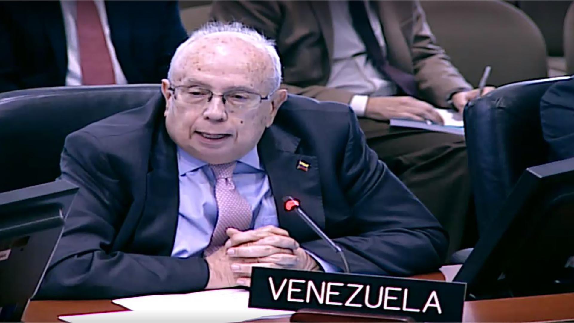Gustavo Tarre, representante de Venezuela ante la OEA (@HispanoPost)