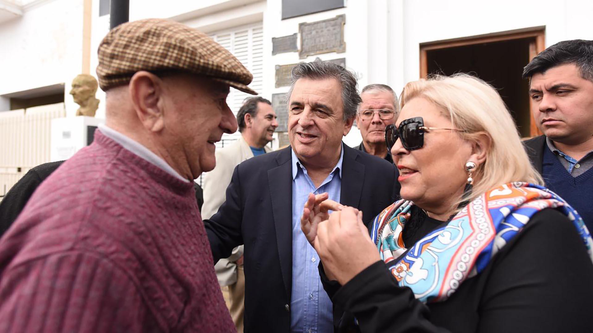 Elisa Carrió se instaló en Córdoba para apoyar la candidatura de Mario Negri